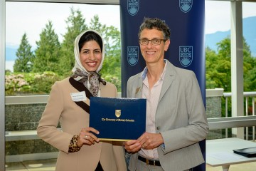 Parisa Behnamfar wins the Killam Graduate Teaching Assistant Prize