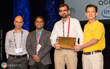 Best Student Paper Award at RFIC 2015